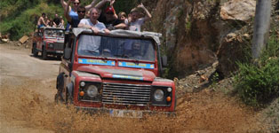 JEEP SAFARI ALANYA (DİM RİVER&DİM CAVE )